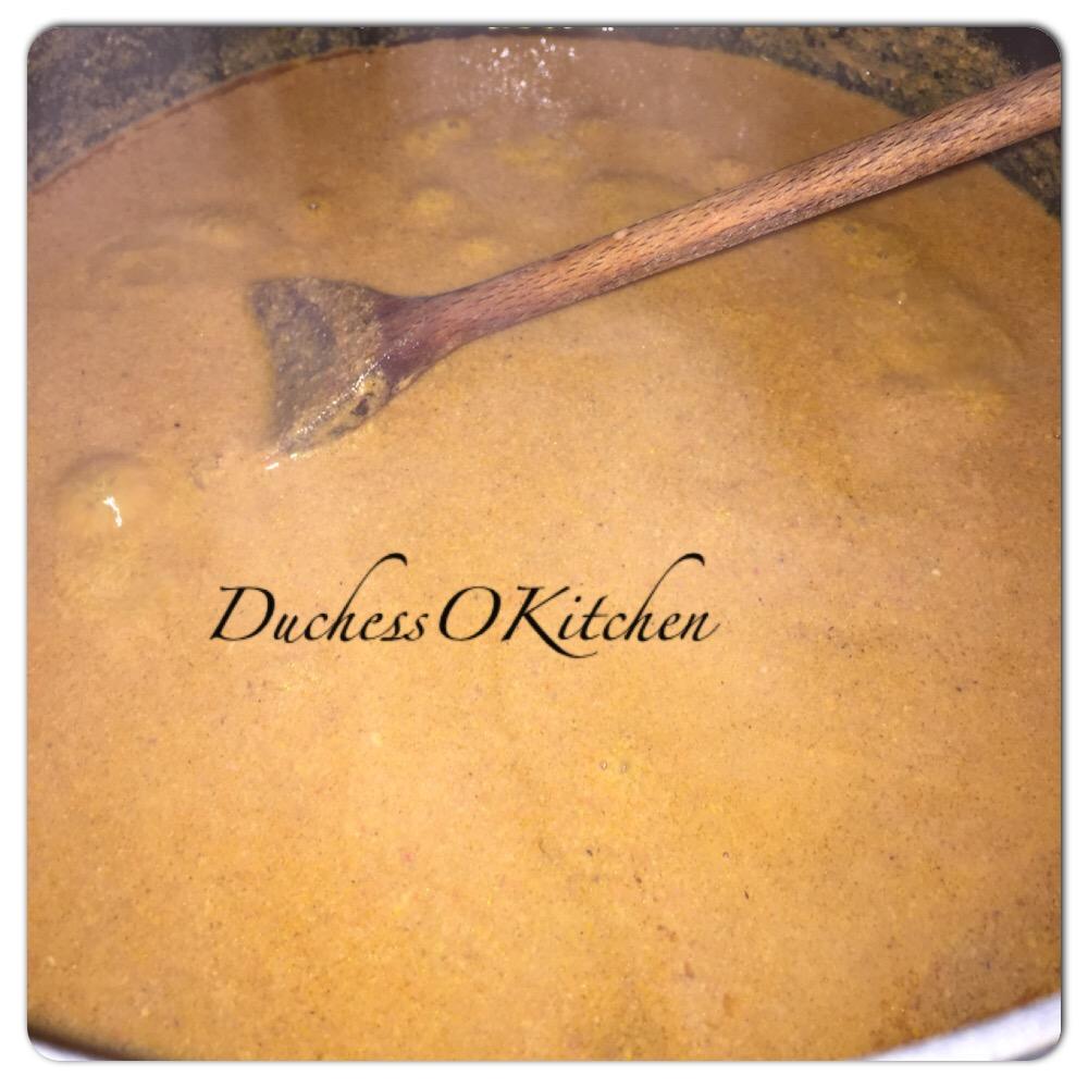how to prepare palmnut soup
