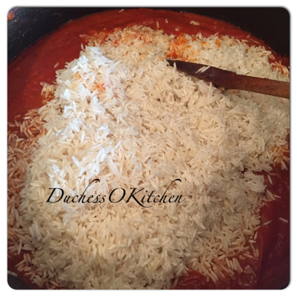 how to cook jollof rice with basmati rice