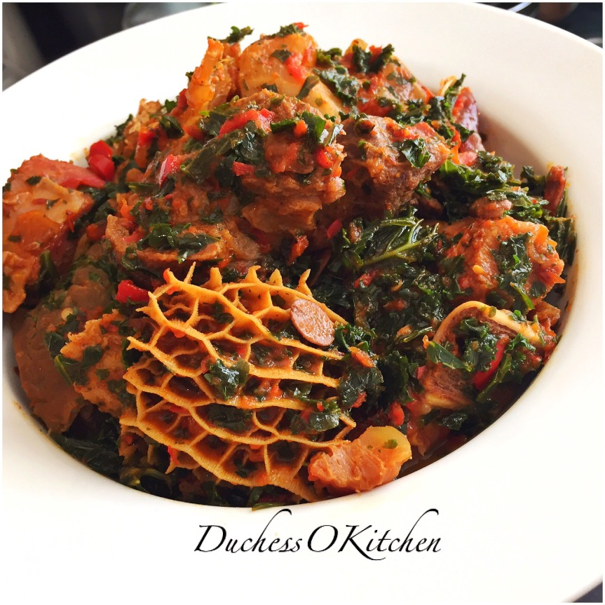 Spicy Kale Riro